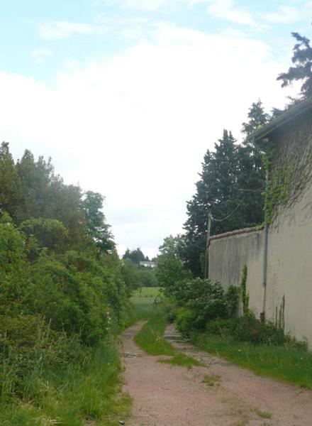 Chemin du Pont de Chêne à Brindas