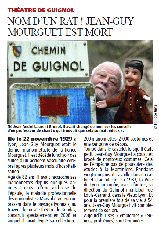 L'article de Direct Matin / Lyon Plus