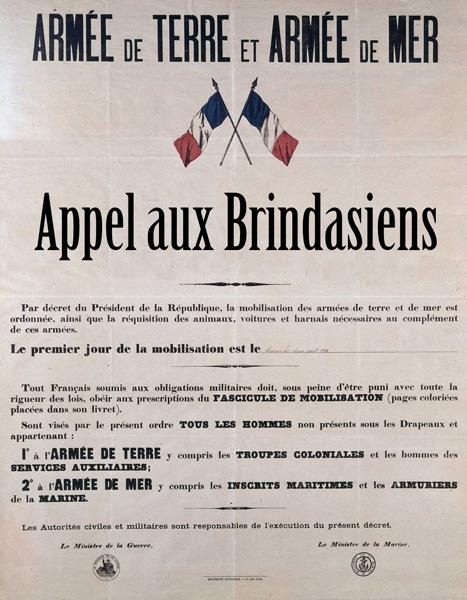 Appel à contributions 1914-1918