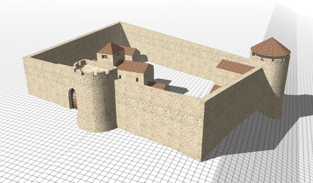 Hypothèse du château de Brindas en 1300