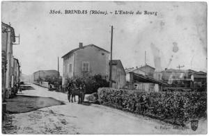 1916_Brindas_Entree_Bourg