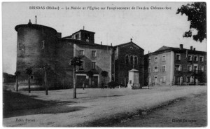 Brindas_Mairie_Eglise_emplacement_Chateau-fort