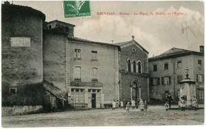 Brindas_Place_Mairie_Eglise