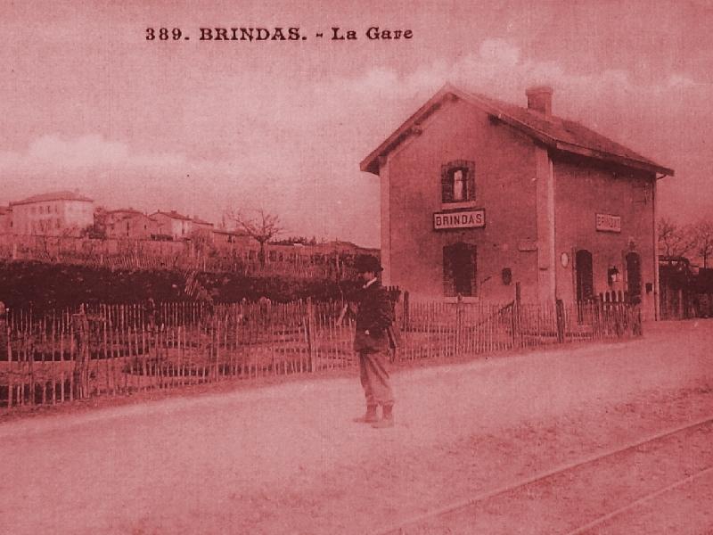 Gare de Brindas